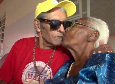 Juazeiro: Idosa de 102 anos e namorado de 80 comemoram 6 anos de união