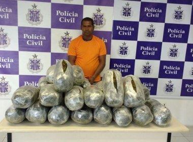 Taxista é solto após ser preso com 31 quilos de maconha; Justiça aponta erro em laudo