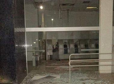 Barreiras: Quadrilha explode caixas do Banco do Brasil de centro da cidade