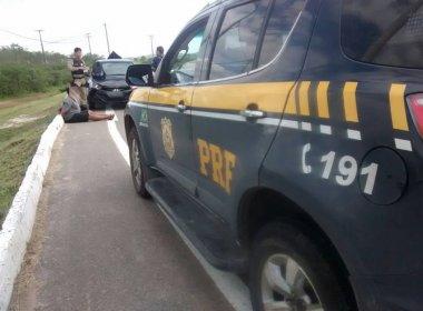 Santo Estevão: Quadrilha especializada em 'saidinha bancária' é presa na BR-116