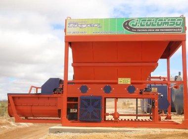Irecê: Prefeitura entrega usina de asfalto