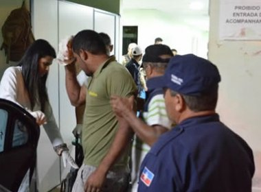 Homem é agredido a marretadas pela própria esposa em Luís Eduardo Magalhães