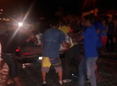 Ipiaú: Dois morrem após atentado em praça pública