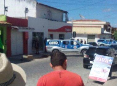 Monte Santo: Bandidos fazem reféns familiares de funcionário de banco