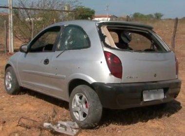 Juazeiro: Carro é atingido por tiros após deixar presídio; 2 morrem e 3 ficam feridos
