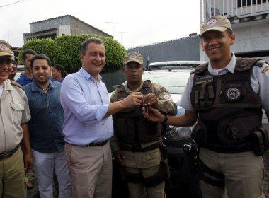 Uruçuca: Governo do Estado entrega sete novas viaturas para a Polícia Militar