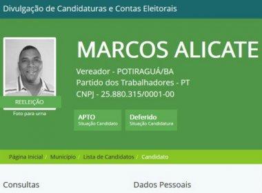 Potiraguá: Vereador é detido por não pagar pensão alimentícia