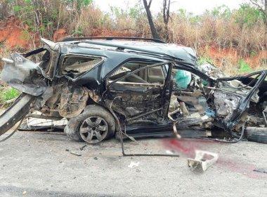 Barreiras: Acidente na BR-242 mata um e deixa dois feridos