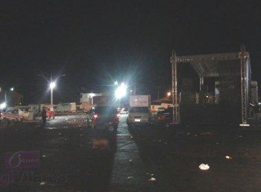 Riachão das Neves: PM é morto por golpe de faca em festa para prefeito eleito
