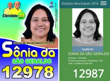 Ipiaú: Candidata descobre que passou campanha com n° errado