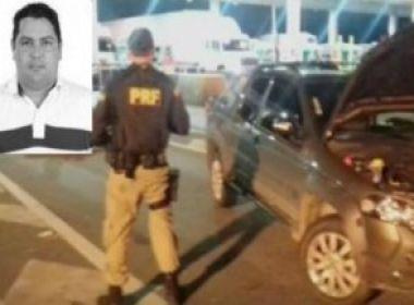 Monte Santo: Vereador reeleito foi preso em flagrante com carro roubado em São Paulo