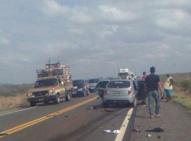 Juazeiro: Três jovens que ocupavam moto morrem em batida na BR-407
