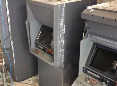 Potiraguá: Grupo armado explode agências bancária e dos Correios