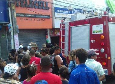 Camaçari: Incêndio em farmácia deixa três mortos e dois em estado gravíssimo