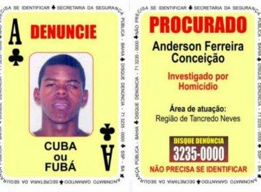 Força-tarefa prende 'Ás de Paus' de baralho do crime em Simões Filho