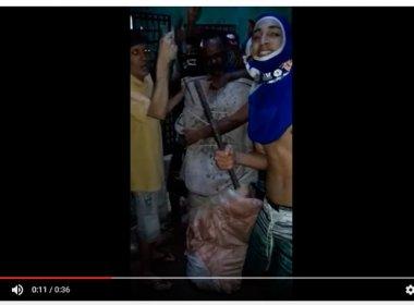 Itamaraju: Detentos aparecem ostentando armas e com refém em rede social; veja vídeo