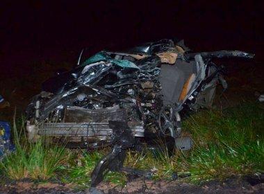 Extremo Oeste: Pai e quatro filhos morrem em acidente perto de Luís Eduardo Magalhães