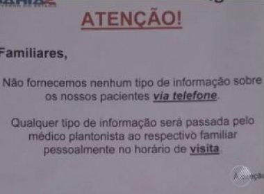 Falsos médicos extorquem dinheiro de família de idoso internado em Porto Seguro