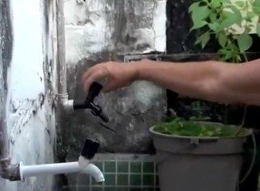 Itororó: Falta de chuva faz moradores sofrerem com racionamento de água