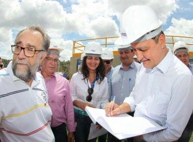 Governo investe R$ 24 mi em esgotamento sanitário de Ipiaú; Rui participa de inauguração