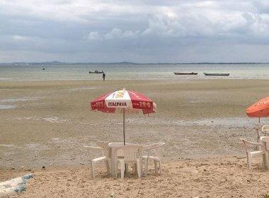 Saubara: Praia reduto de 'feirenses' sofre com baixa de vendas