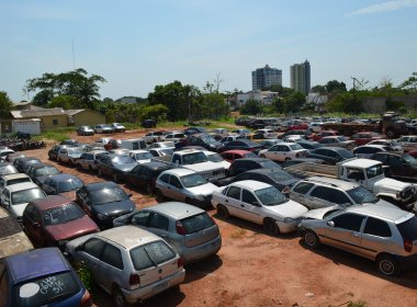Detran-BA vai leiloar mais de 2 mil veículos no interior do estado