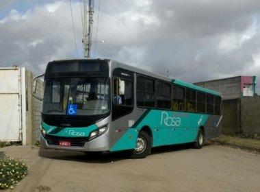 Feira: Justiça determina e banco recolhe ônibus da empresa Rosa