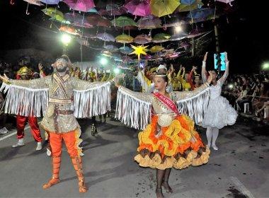 Coité: Quadrilha junina participa de terça de carnaval em Salvador