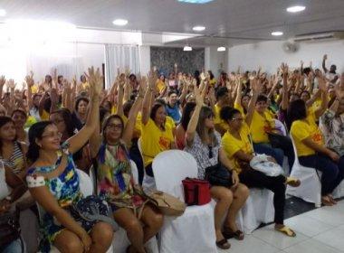 Feira: Professores anunciam paralisação de 12 dias a partir desta quarta