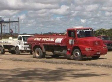 Conquista: Ministério reduz carros-pipas por 'erro' em cadastro; prefeitura contesta
