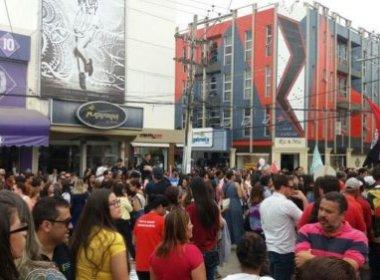 Conquista: Protesto contra reforma da previdência leva centenas às ruas