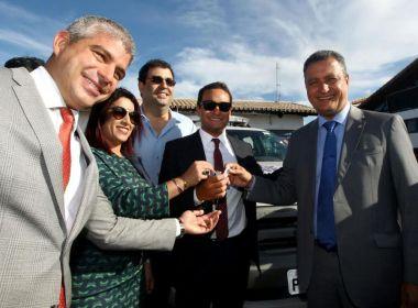 Eunápolis: Rui Costa entrega viaturas e anuncia a construção do Fórum de Porto Seguro
