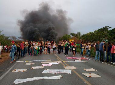 Euclides da Cunha: Protesto contra a reforma da previdência bloqueia BR-116
