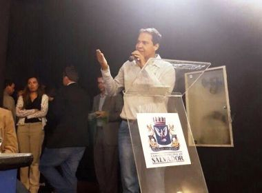 Presidente da UPB participa de evento da Funasa e cobra verbas de merenda escolar