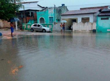 Alagoinhas: Chuva deixa 80 desabrigados