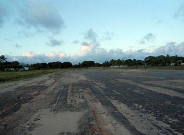 Dezessete aeródromos do interior baiano estão interditados
