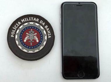 Jovem é preso ao tentar desbloquear celular roubado em Serrinha