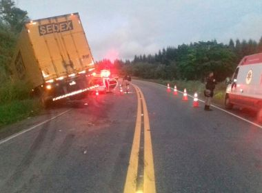 Acidente deixa oito mortos e um ferido na BR-101; motorista não tinha habilitação