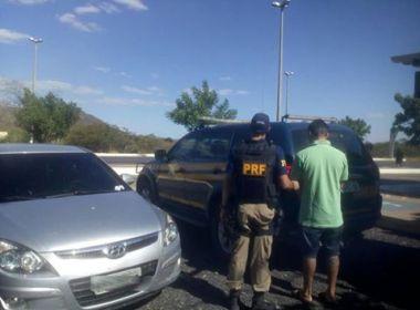 Ibotirama: Traficante foragido da Justiça é preso na BR-242