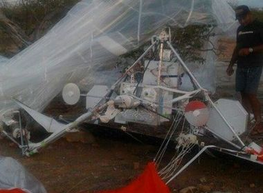 Chorrochó: Equipamento misterioso cai do céu e intriga moradores