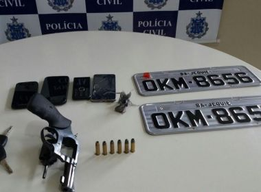 Governador Mangabeira: Quadrilha que cometeria assaltos é desarticulada