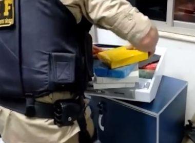Conquista: PRF flagra mulher transportando 10kg de cocaína em depurador de ar