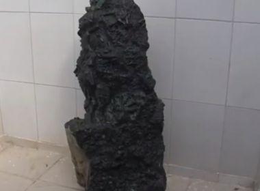 Pindobaçu: Esmeralda de 360kg é encontrada; similar vale cerca de R$1 bilhão