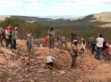 Sento Sé: Garimpo já fez mais de 3 mil subir serra em busca de pedra preciosa