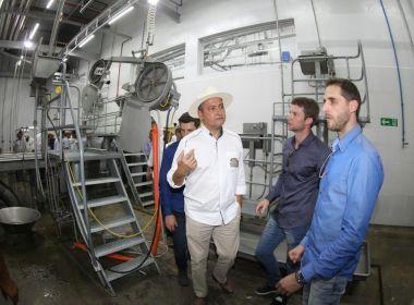 Luis Eduardo Magalhães: Rui Costa inaugura frigorífico e divulga construção de escola