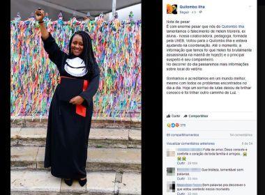 Vera Cruz: Mulher é assassinada à facadas; marido é principal suspeito do crime