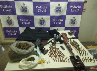 Juazeiro: Ex-PM e mais 4 são presos por tráfico de drogas e homicídios