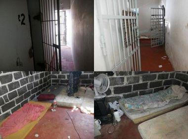 Caetité: Presidiários serram grades da carceragem e fogem de delegacia local