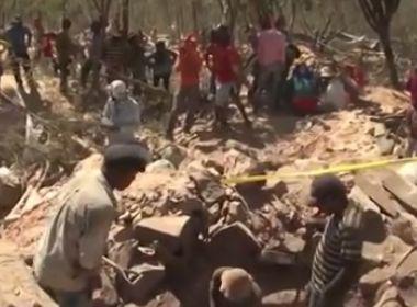 Sento Sé: Parte de mina é interditada por trabalho irregular de garimpeiros