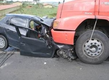 Sto. Antônio de Jesus: Acidente na BR-101 deixa dois mortos